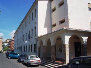 facciata edificio piazzale delle Arti